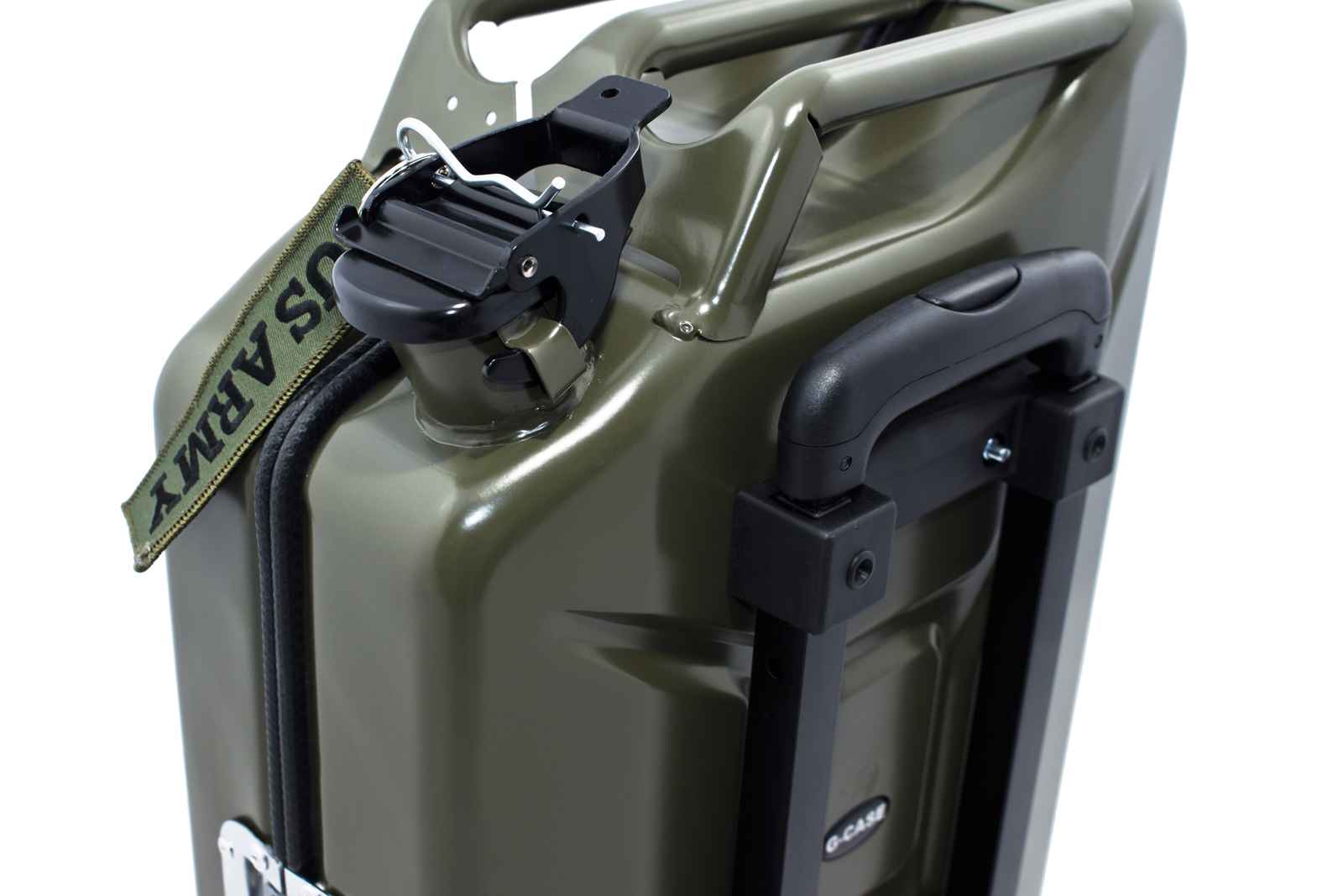 armygreen G-case jerrycan luggage 3