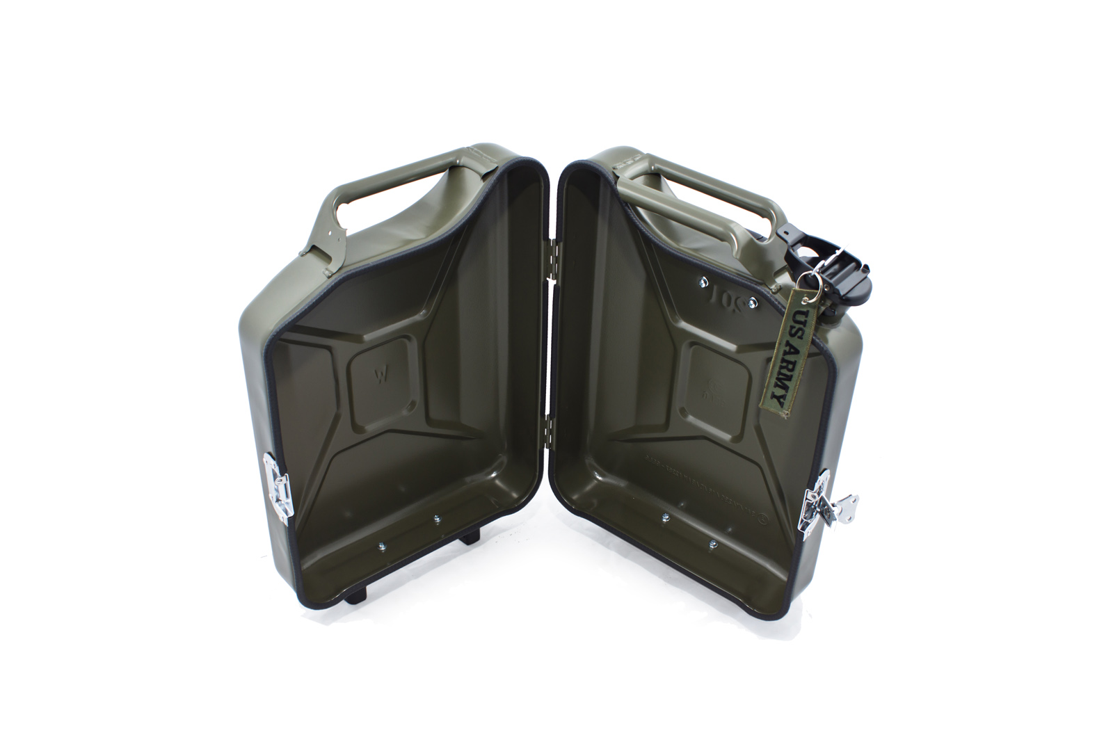 armygreen G-case jerrycan luggage 5